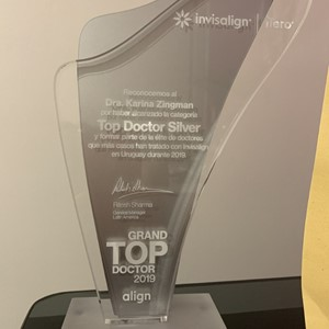 Premio Invisalign Grand Top Doctor 2019